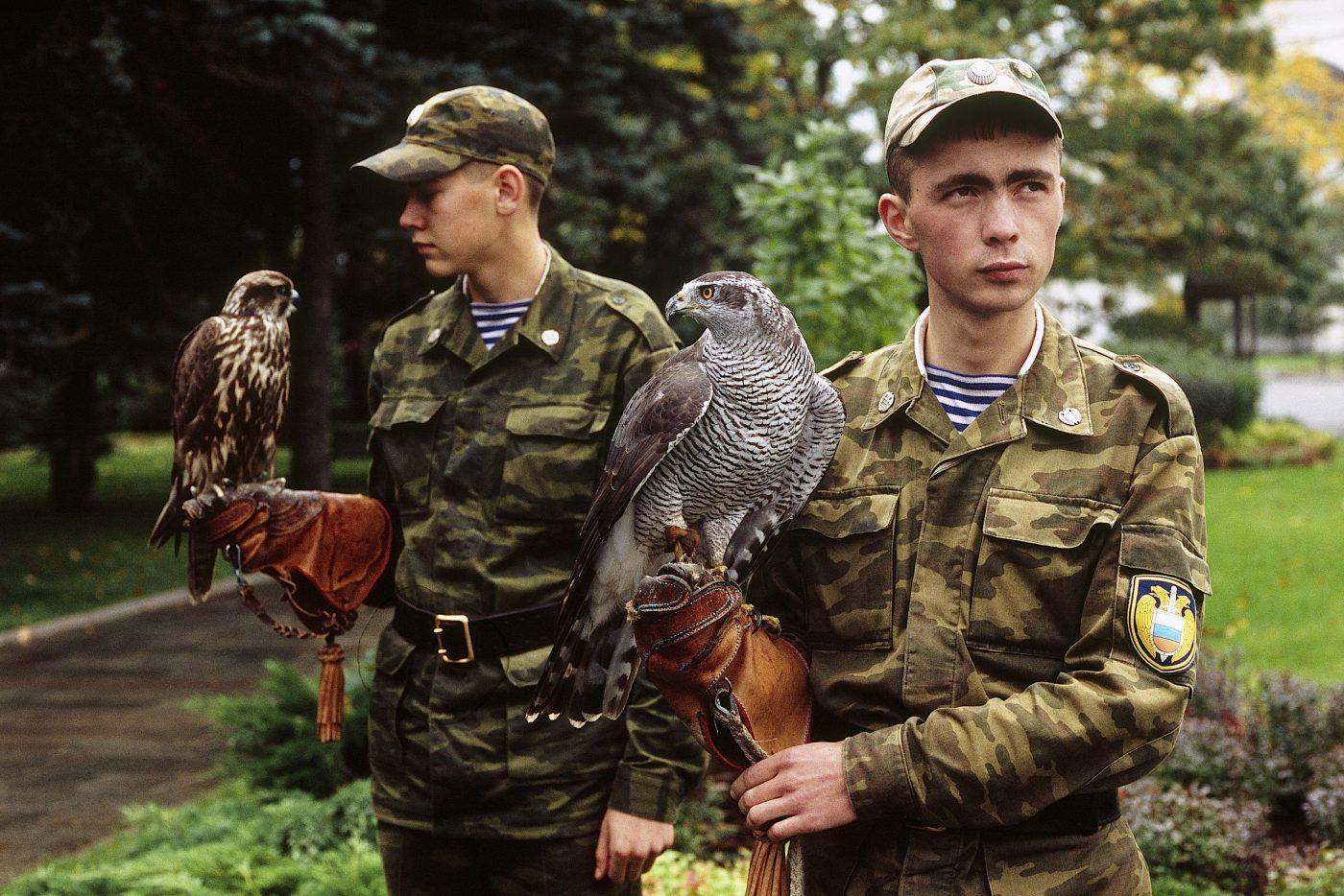 Olivier_Martel_Moscou_Regiment du Kremlin_Fauconniers_