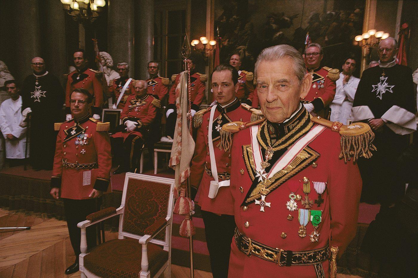Versailles_Ceremonie de la Saint Jean au Chateau de Versailles_Salle des Croisades_reception des nouveaux membres